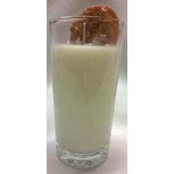 Le Grand Verre de Lait et son Cookie