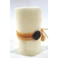 Bougie pilier parfumée H 15 cm